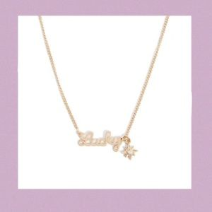 Lucky Pendant Necklace